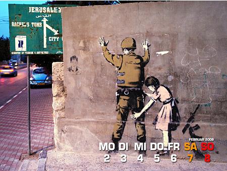 Banksy Mädchen