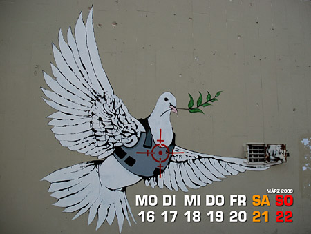 Peace with Banksy