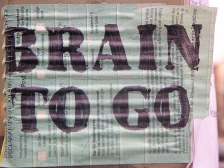 brain to go