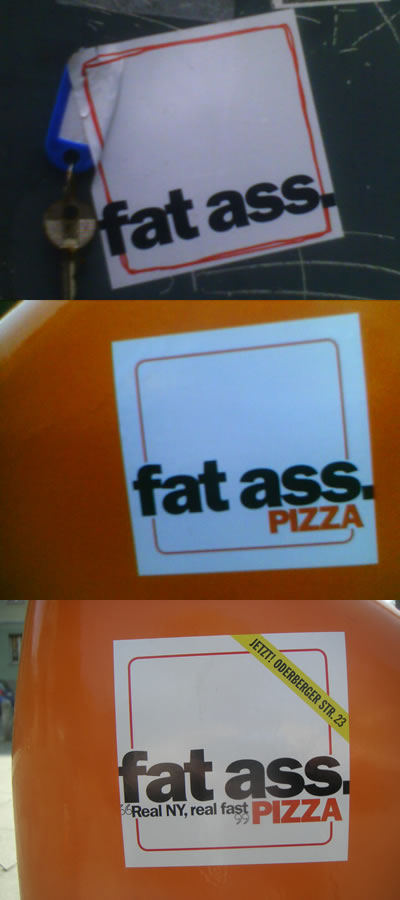 Fat Ass Pizza Berlin, Oderberger Strasse 23, Prenzlauer Berg Berlin