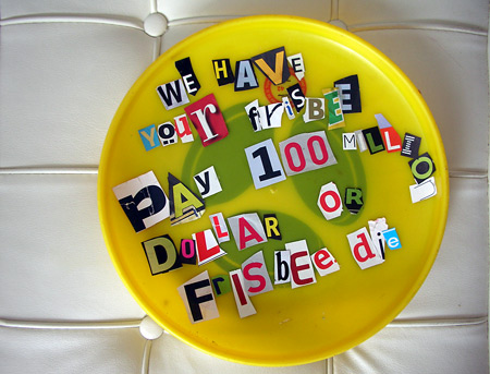 Frisbee Entführung