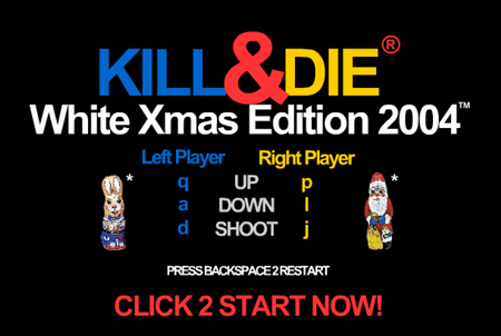 Kill&Die XMAS Edition 2004 - Flash Game Like Hell