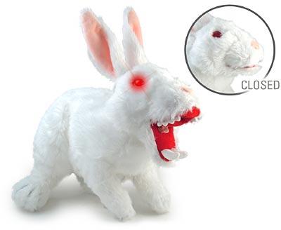 Das weisse Killer Kaninchen