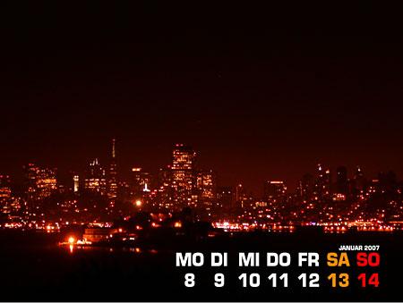 02 - San Francisco bei Nacht