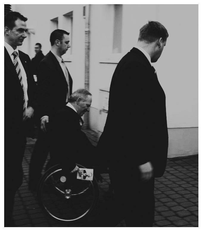 Schäuble mit Stasi 2.0 Flyer