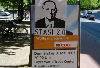 Bremer CDU Plaket